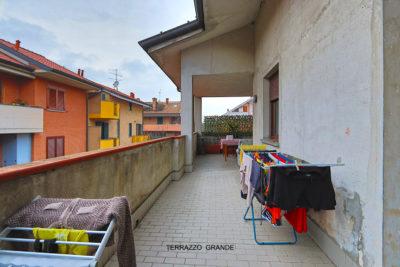 villa bifamiliare terrazzi Lissone foto30