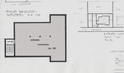villa bifamiliare terrazzi Lissone planimetria 2