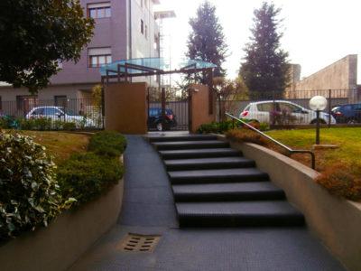Trilocale elegante terrazzo Lissone foto20