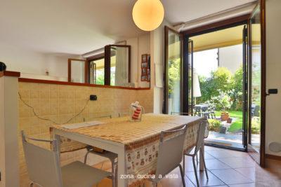 appartamento trilocale giardino lissone foto34