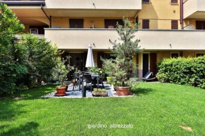 appartamento trilocale giardino lissone foto21