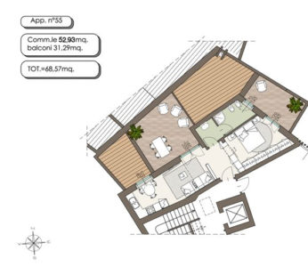 nuova mansarda terrazzi lissone foto13