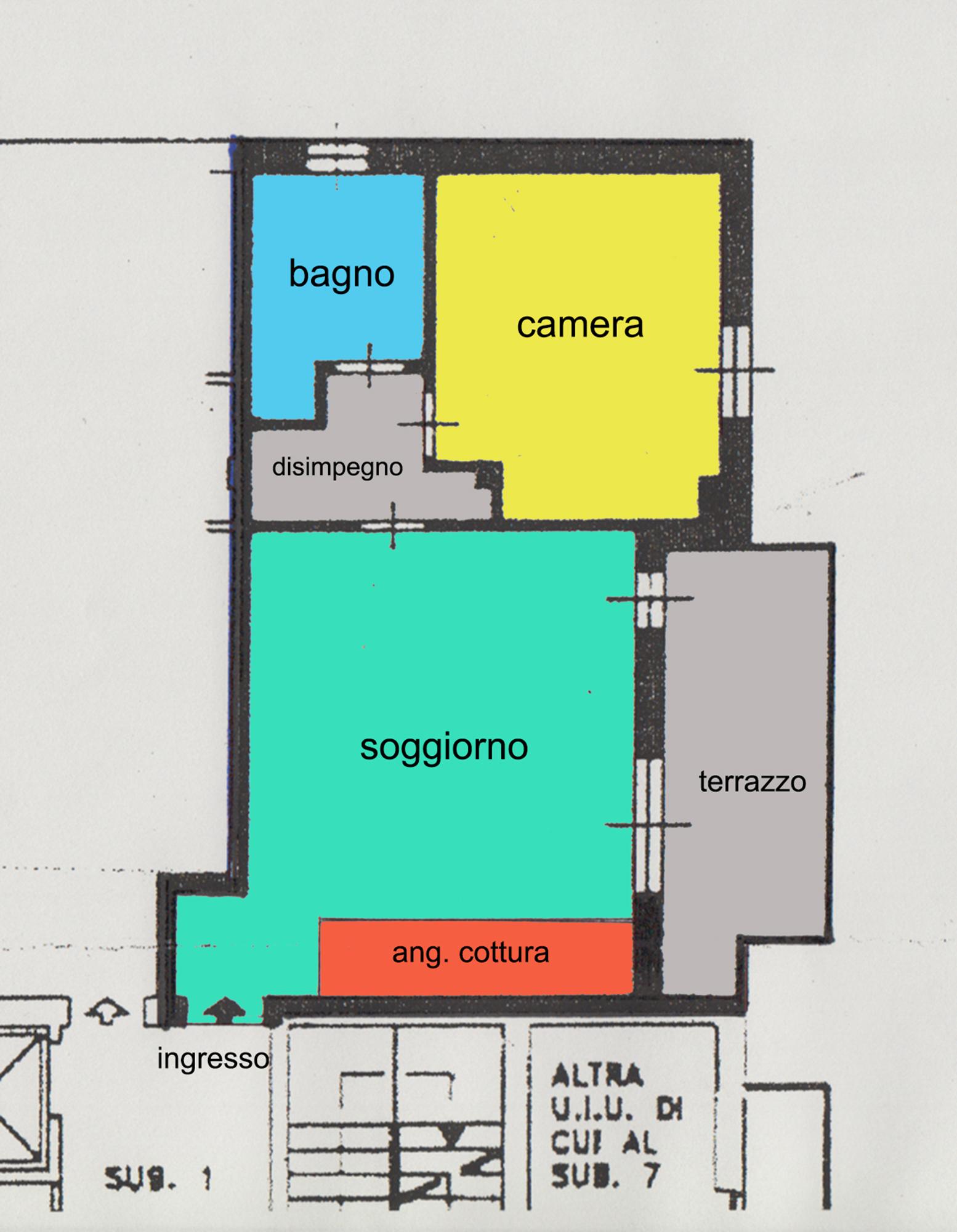 Planimetria Immobiliare Fossati