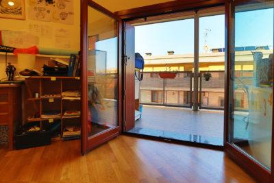 attico mansarda terrazzi lissone foto21
