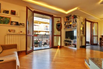 attico mansarda terrazzi lissone foto34