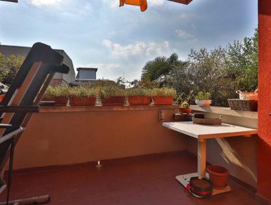 quadrilocale giardino porticato macherio foto9