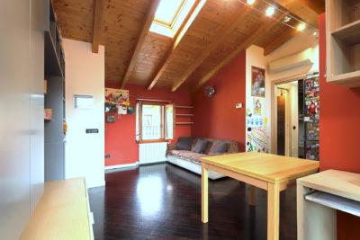 mansarda ristrutturata centro Lissone foto14
