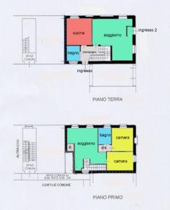 grande appartamento centro lissone planimetria