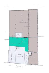 stabile indipendente centro Lissone planimetria 2