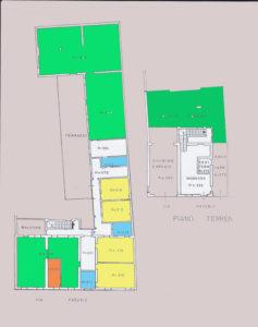 stabile indipendente centro Lissone planimetria 1