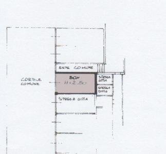 trilocale zona pacinotti lissone planimetria box